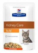 Hill's Prescription Diet™ k/d™ Kidney Care Chicken диета для кошек с заболеваниями почек с курицей