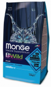 Monge Cat Bwild Anchovies анчоус 1,5 кг