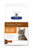 Hill's Prescription Diet™ k/d™ Feline Chicken лечебный сухой корм для кошек с заболеваниями почек