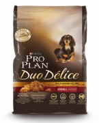 Pro Plan Duo Delice Small & Mini сухой корм для мелких пород собак с лососем и рисом